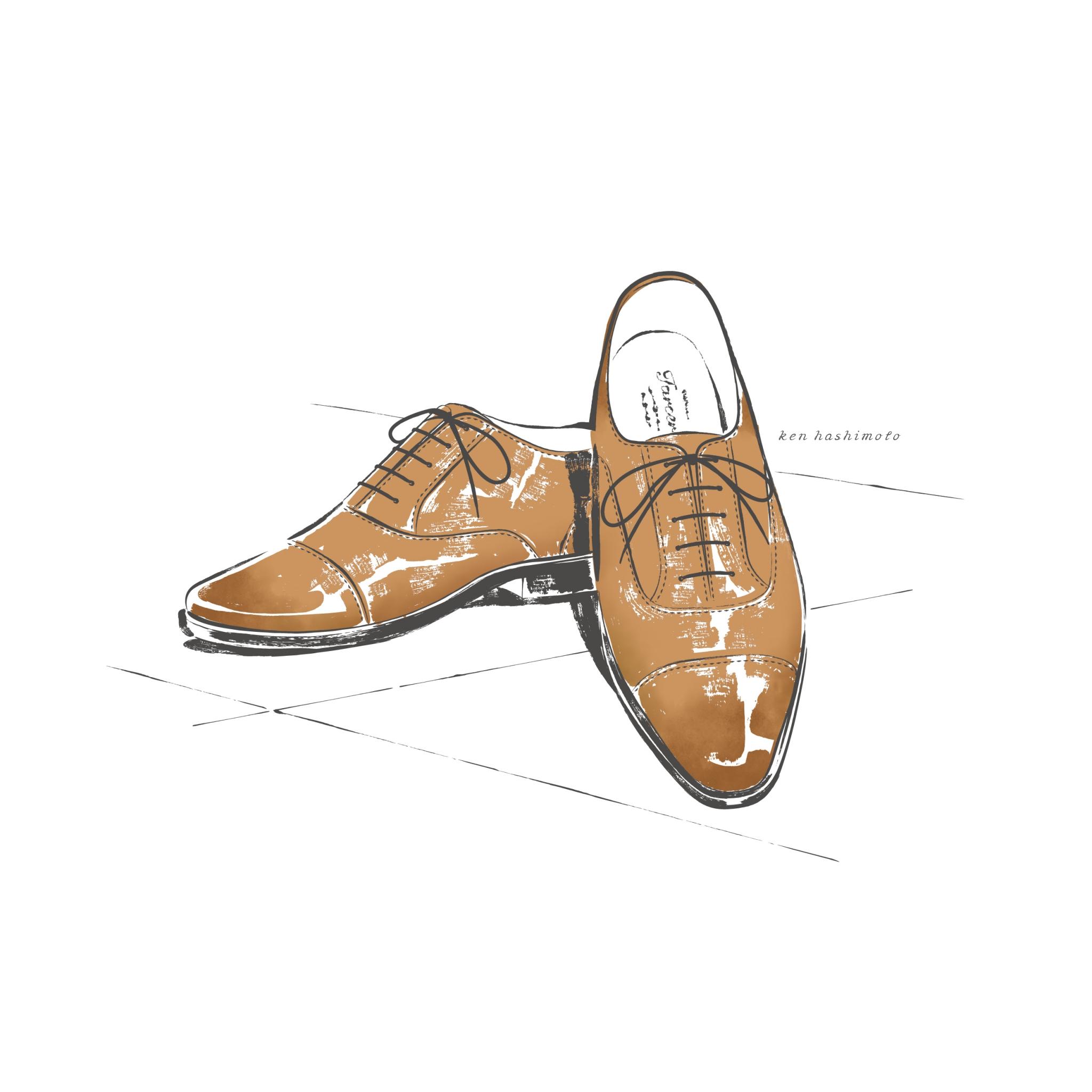 革靴イラスト