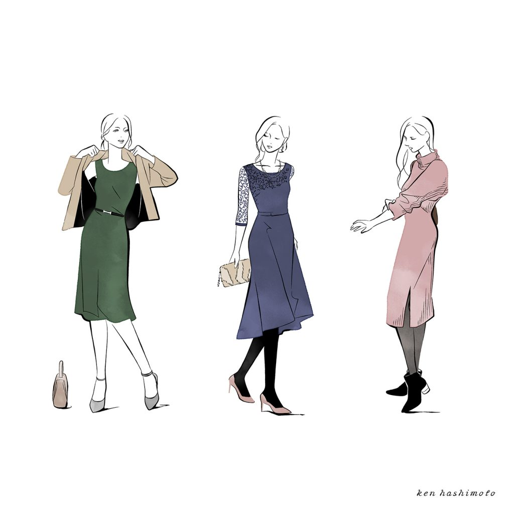 Wacoal Style イラスト3